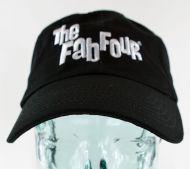 Fab Four Embroidered Logo Baseball Cap