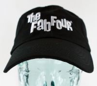 Fab Four Embroidered Logo Baseball Cap