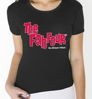Women's Black Fitted Tshirt