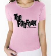 Junior's Pink Fitted TShirt